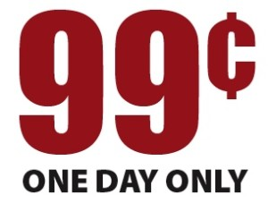only 99 cents